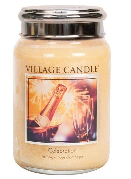 Village Candle Celebration Large Jar