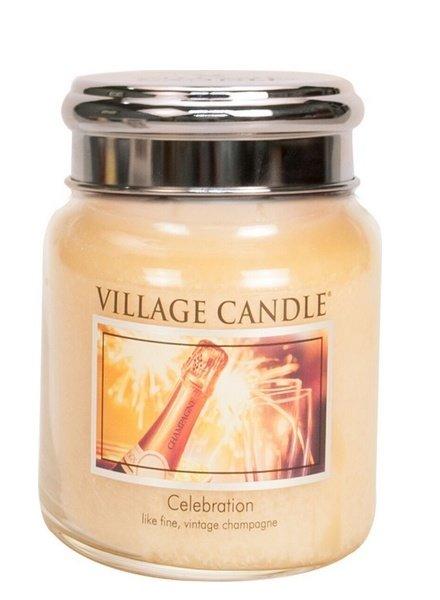 Village Candle Celebration Medium Jar