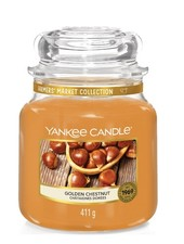 Yankee Candle Golden Chestnut Medium Jar