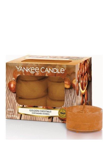 Yankee Candle Golden Chestnut Theelichten