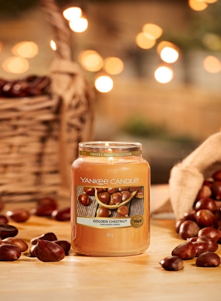 Yankee Candle Yankee Candle Golden Chestnut Small Jar