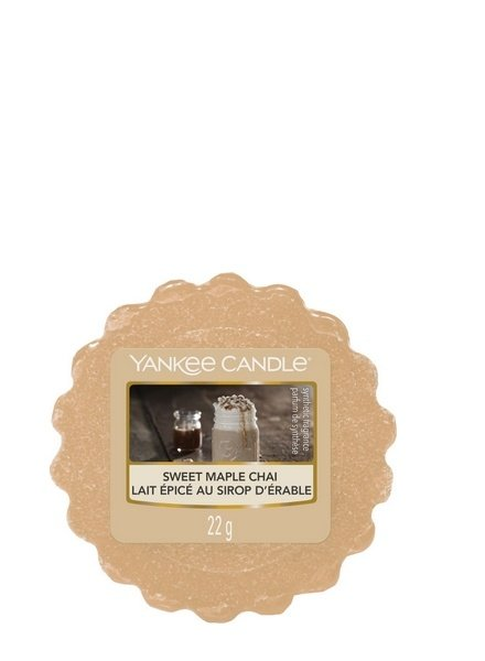Yankee Candle Sweet Maple Chai Tart