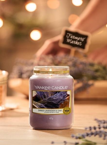 Yankee Candle Yankee Candle Dried Lavender & Oak Large Jar