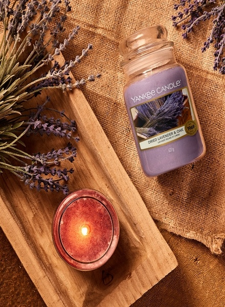 Yankee Candle Yankee Candle Dried Lavender & Oak Small Jar