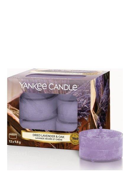 Yankee Candle Dried Lavender & Oak Theelichten