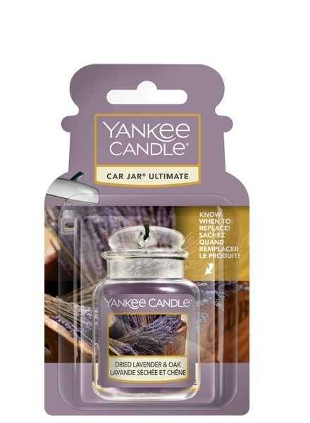 Yankee Candle Dried Lavender & Oak Car Jar Ultimate