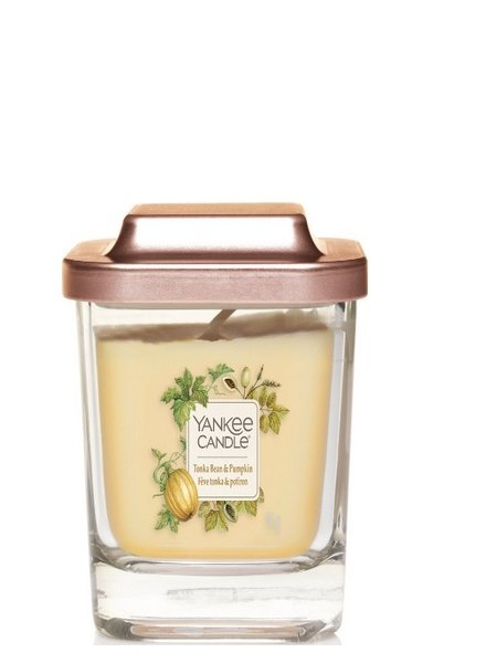 Yankee Candle Tonka Bean & Pumpkin Elevation Small Geurkaars