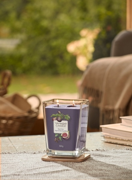 Yankee Candle Yankee Candle Fig & Clove Elevation Large Geurkaars