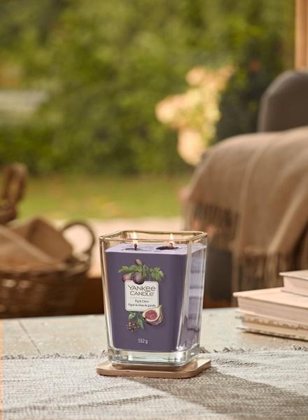 Yankee Candle Yankee Candle Fig & Clove Elevation Medium Geurkaars