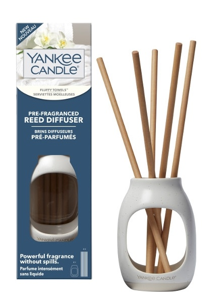 Yankee Candle Yankee Candle Fluffy Towels Pre-Fragranced Reed Diffuser Starter Kit
