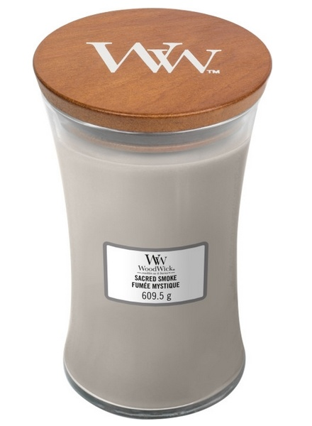 Woodwick WoodWick Large Candle Sacred Smoke