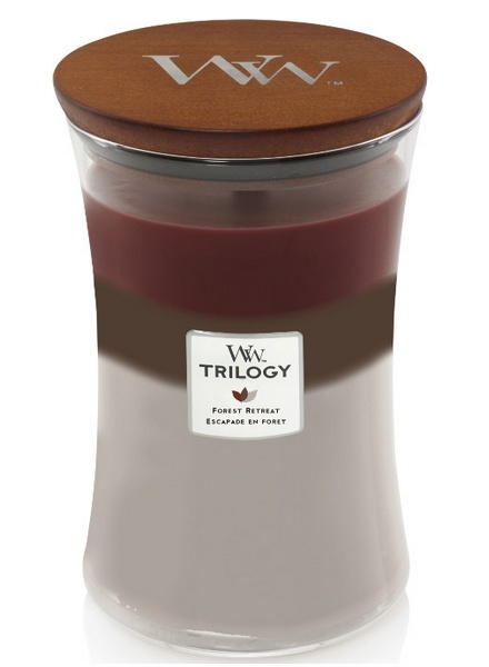 Woodwick WoodWick Forest Retreat Trilogy Large Candle