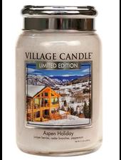 Village Candle Aspen Holiday Large Jar