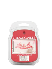 Village Candle Cherry Vanilla Swirl Wax Melt