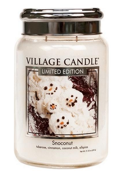 Village Candle Snoconut Large Jar