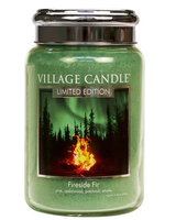 Village Candle Fireside Fir Large Jar
