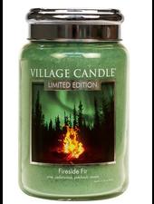 Village Candle Fireside Fir Large Jar