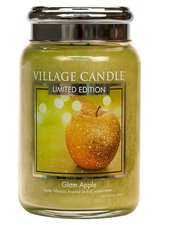 Village Candle Glam Apple Large Jar