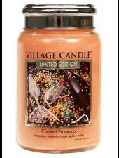 Village Candle Confetti Prosecco Large Jar