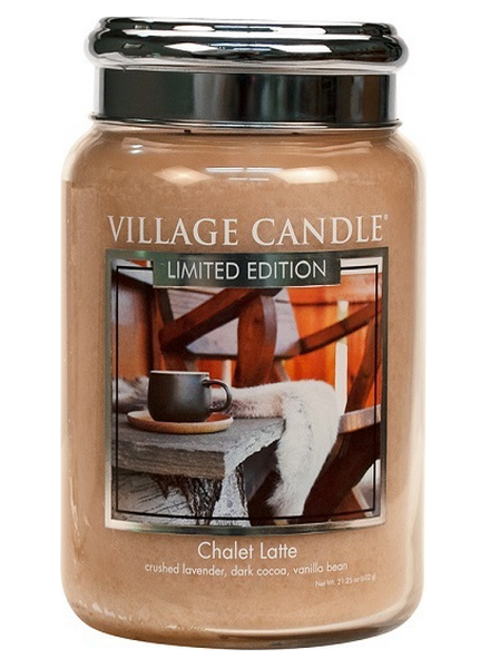 Village Candle Chalet Latte Large Jar