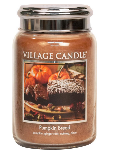 Village Candle Pumpkin Bread Large Jar