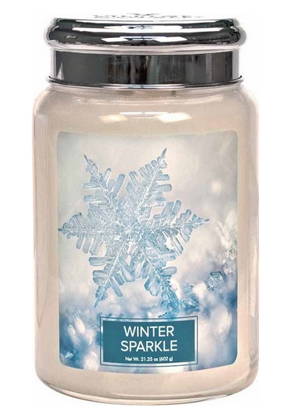 Village Candle Winter Sparkle Large Jar