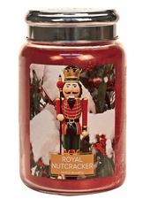 Village Candle Royal Nutcracker Large Jar