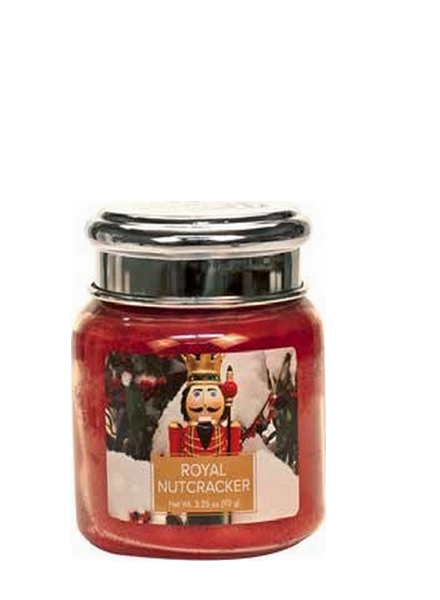 Village Candle Village Candle Royal Nutcracker Mini Jar