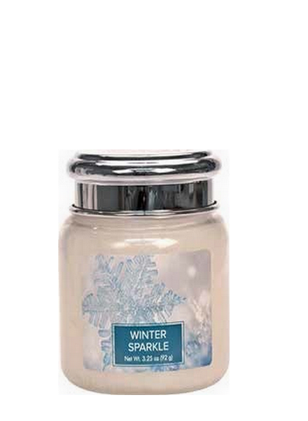 Village Candle Winter Sparkle Mini Jar