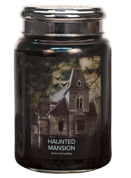 Village Candle Haunted Mansion Large Jar