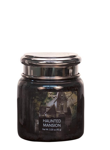 Village Candle Haunted Mansion Mini Jar