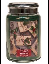 Village Candle Tis The Season Large Jar