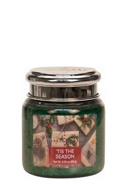 Village Candle Tis The Season Mini Jar