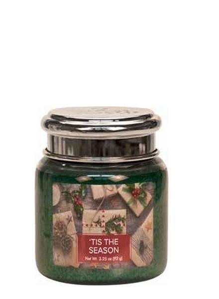 Village Candle Village Candle Tis The Season Mini Jar