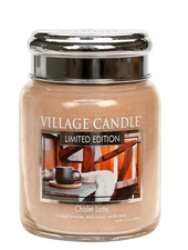 Village Candle Chalet Latte Medium Jar