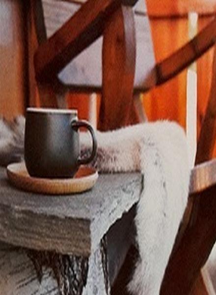 Village Candle Village Candle Chalet Latte Mini Jar