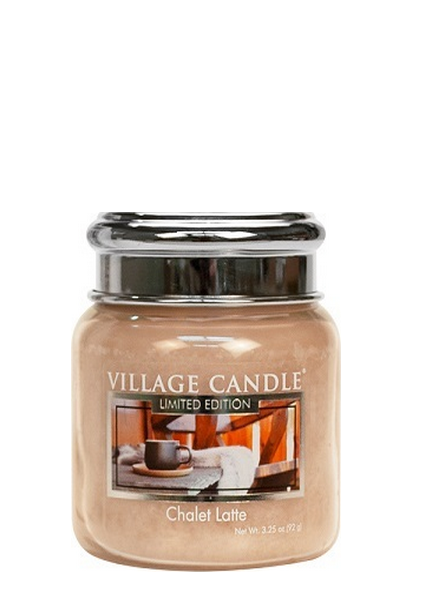 Village Candle Chalet Latte Mini Jar