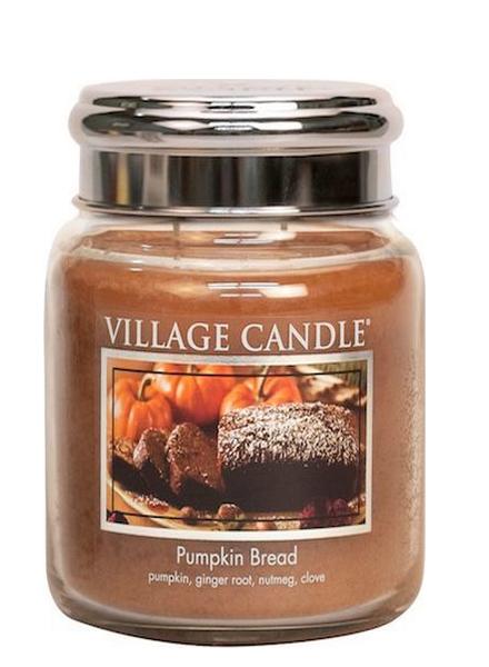 Village Candle Pumpkin Bread Medium Jar