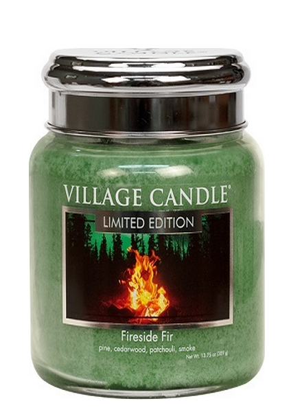 Village Candle Fireside Fir Medium Jar