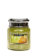 Village Candle Glam Apple Mini Jar