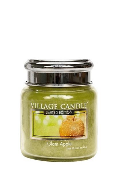 Village Candle Glam Apple Mini Jar