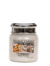 Village Candle Aspen Holiday Mini Jar