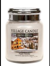 Village Candle Aspen Holiday Medium Jar