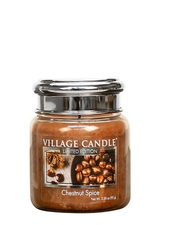 Village Candle Chestnut Spice Mini Jar