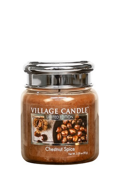 Village Candle Village Candle Chestnut Spice Mini Jar