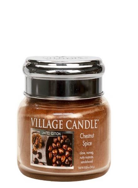 Village Candle Chestnut Spice Small Jar