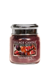 Village Candle Purple Basil & Fig Mini Jar