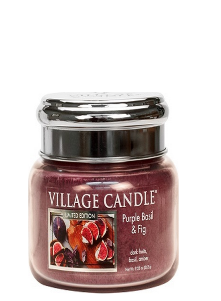 Village Candle Village Candle Purple Basil & Fig Small Jar