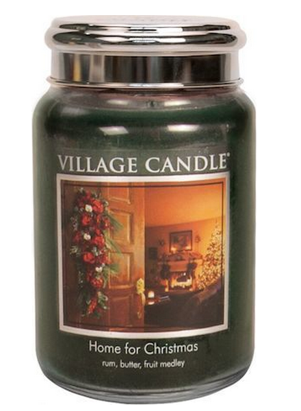 Village Candle Village Candle Home For Christmas Large Jar