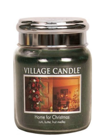 Village Candle Home For Christmas Medium Jar